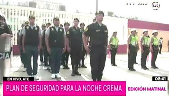 """Esta noche se llevará a cabo el evento """"La Noche Crema"""", en el cual el equipo Universitario de Deportes se enfrentará contra U. de Concepción. (Foto: TV Perú)"""
