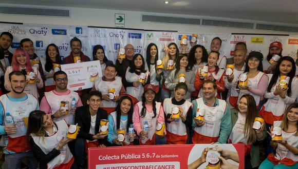 Más de 30 personas, entre deportistas y artistas, se sumaron como embajadores de la institución. (Foto: Liga Contra el Cáncer)