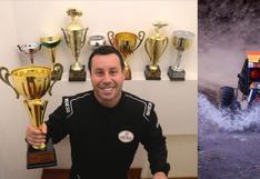 Diego Rodríguez es el Campeón Nacional de Rally en la categoría Joyner