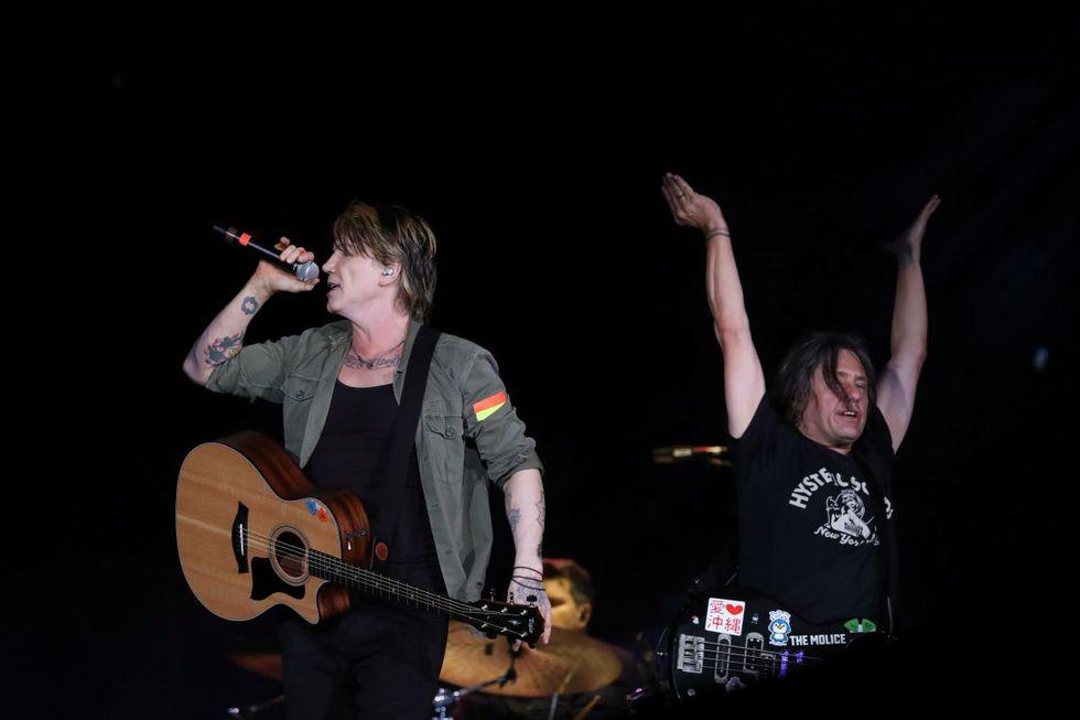 John Rzeznik y Robby Takac de las Goo Goo Dolls llegaron al Perú junto a Bon Jovi. (Foto: REUTERS)