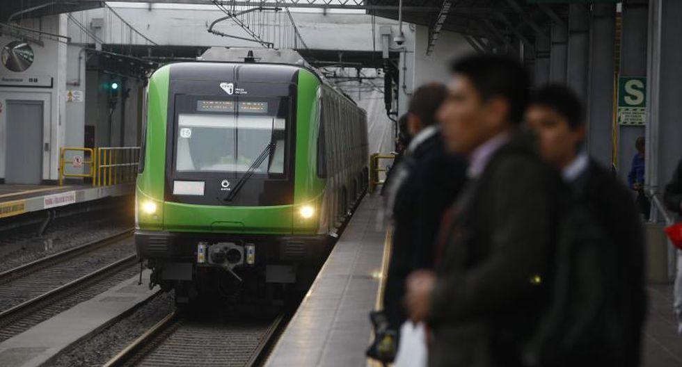 Metro de Lima: Línea 1 ampliará su horario de atención este lunes. (GEC)
