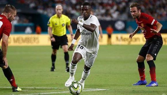 Vinicius Jr. quiere mejorar aún más para darle triunfos al cuadro español. (Foto: Real Madrid)