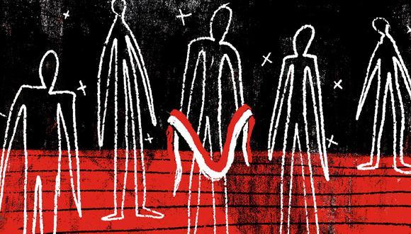 """""""En estos cinco años ha habido tres personajes que han definido un destino por ahora duradero"""" (Ilustración: Giovanni Tazza)."""