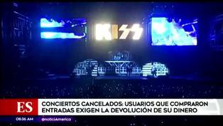 Usuarios piden devolución de entradas tras cancelación de conciertos por pandemia de COVID-19