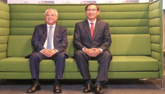 El ministro Juan Carlos Liu fue destituido, aparentemente, por haber incurrido en un conflicto de intereses del que no estaba al tanto el presidente de la República. (Foto:Minem)