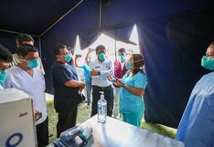 Ica: primer ministro Vicente Zeballos visitó hospitales por coronavirus y dengue
