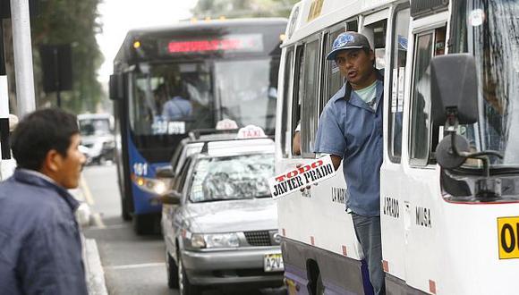 Transportistas del Callao marchan hoy contra retiro de rutas