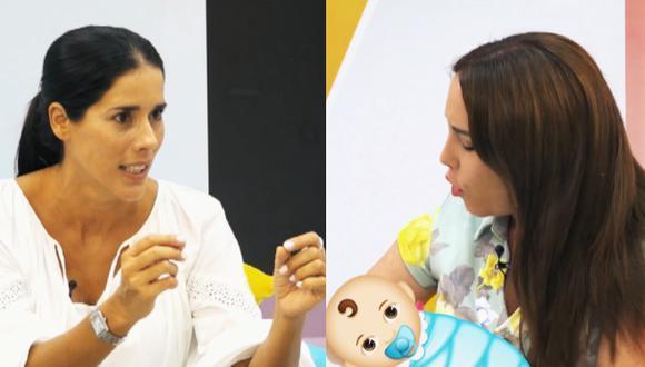 Gianella Neyra juega Impro en ABC en #Dilo