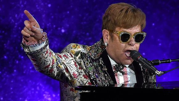 Elton John. (Foto: Difusión)