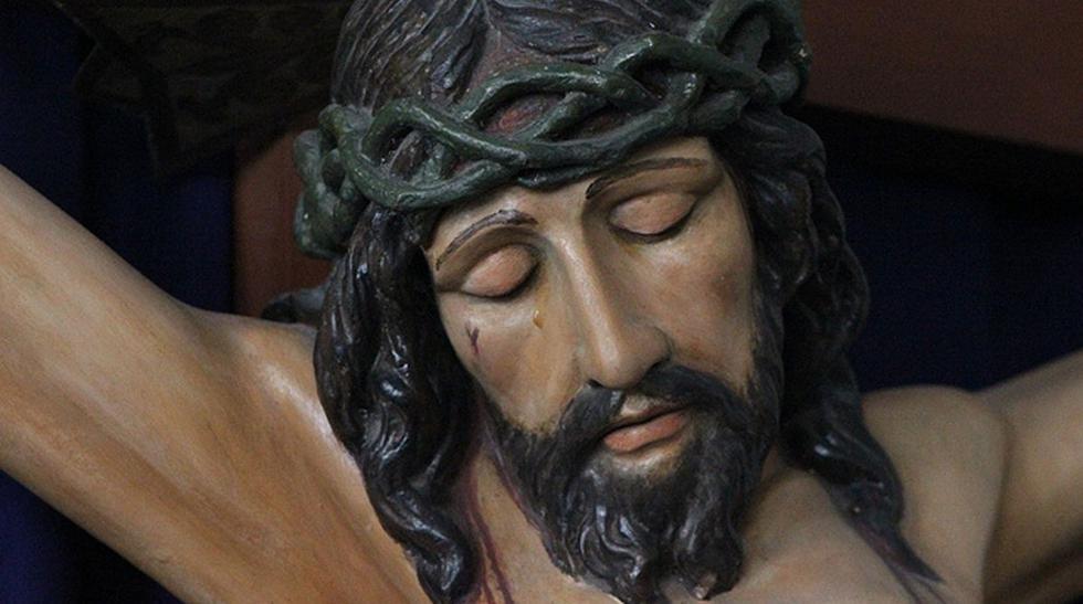 Fotos de la figura de Cristo que 'llora' según trujillanos - 1