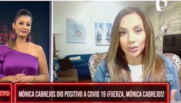 """Karla Tarazona reemplazó a Mónica Cabrejos en """"Al Sexto Día"""". (Foto: captura de video)"""