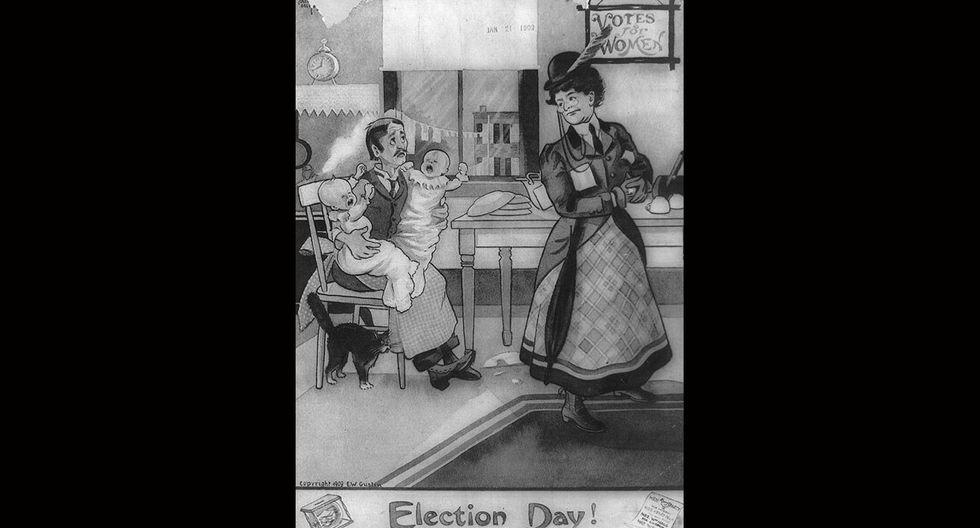 Estos afiches de 1920 contra la mujer indignarán a cualquiera - 12