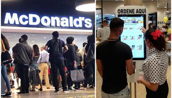 McDonald's en el Jockey Plaza. (Foto: Elaboración propia)