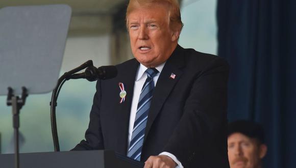 """Donald Trump desde Pensilvania: Estados Unidos """"jamás se rendirá a la tiranía"""". (AFP)"""