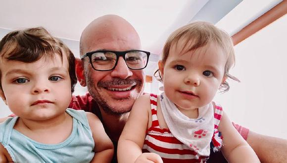 Los mellizos de Ricardo Morán celebraron un año de vida. (Foto: Instagram @ricardomoranvargas)