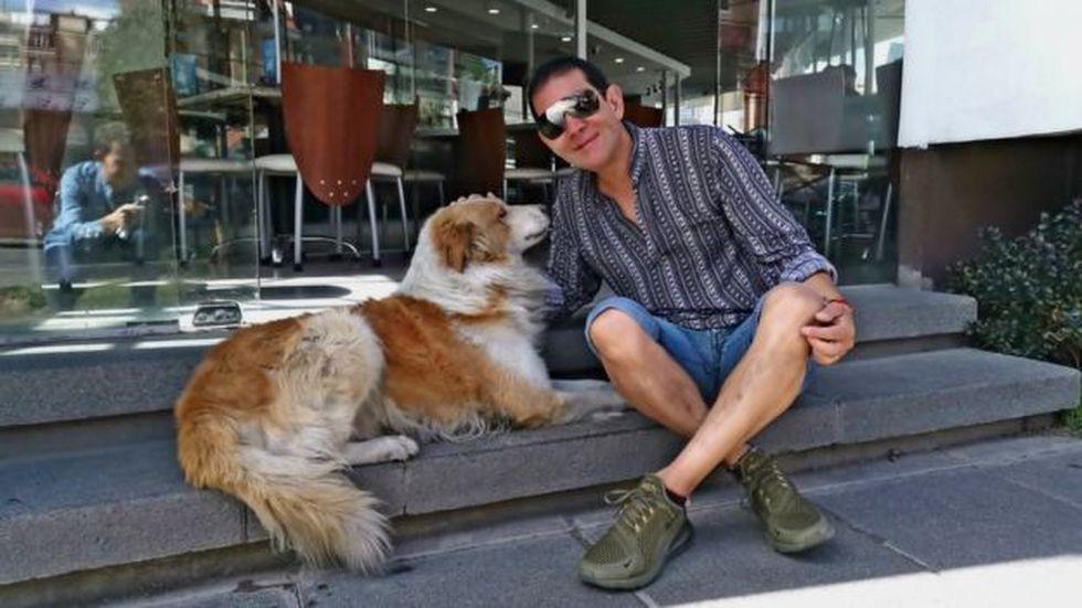 Choco fue el perrito callejero que la cambió la vida a Kushner.