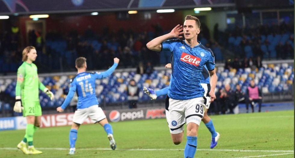 Napoli goleó 4-0 a Genk por la fecha 6 de la Champions League 2019