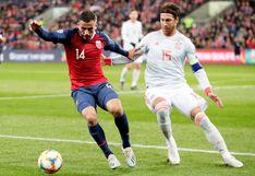 Sergio Ramos, con 168 partidos, superó a Casillas y se convirtió en el nuevo récord de apariciones internacionales con España