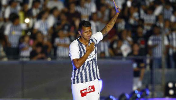 Rinaldo Cruzado se quedará en Alianza Lima. (Foto: GEC)