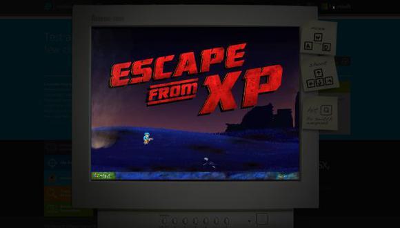 Microsoft realiza un homenaje a Windows XP con juego web