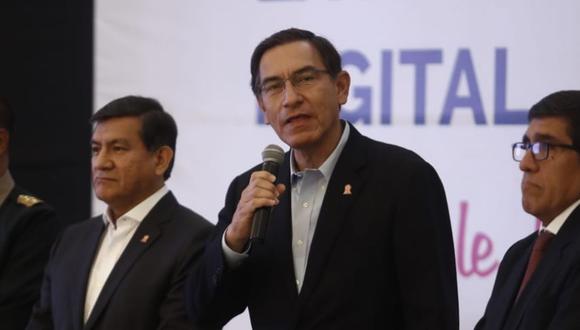 Martín Vizcarra está dispuesto a dialogar con los ciudadanos arequipeños. (Foto: César Campos/GEC)
