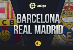 Barcelona - Real Madrid en vivo: alineaciones, dónde ver y cómo seguir online el clásico español