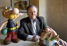 Murió Albert Uderzo, recordado dibujante de Astérix