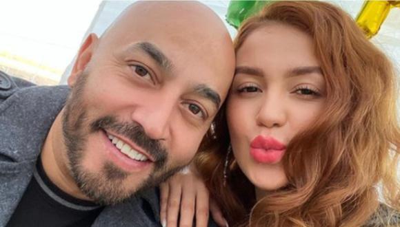 Lupillo Rivera celebra su amor con Giselle Soto con romántica foto navideña. (Foto: @gorgizz)