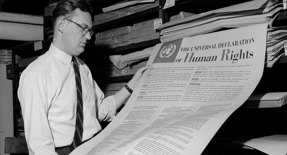 """""""El problema reside en un error filosófico que confunde derechos naturales con derechos positivos, tal y como lo hace la Declaración Universal de Derechos Humanos (1948) de la ONU que la Unión Soviética ayudó a redactar"""". (Foto: Getty Images)."""
