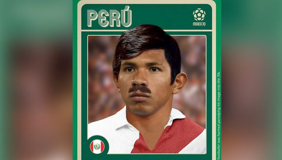 Edison Flores en su versión México 70. FOTOILUSTRACIÓN:  Verónica Calderón Chui.