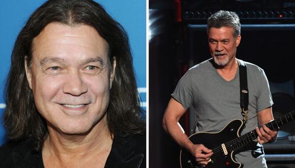 Eddie Van Halen falleció a los 65 años dejando un gran vacío en el género del rock. (Fotos: Jamie McCarthy / Ethan Miller / AFP)