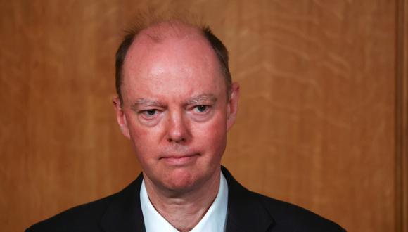 Chris Whitty, director médico de Inglaterra. REUTERS/Simon Dawson/Pool