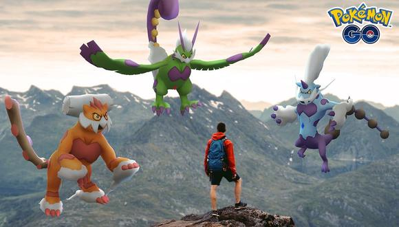¿No tienes a Tornadus, Thundurus y Landorus? Esta es tu oportunidad para volverlos a tener en Pokémon GO. (Foto: Niantic)