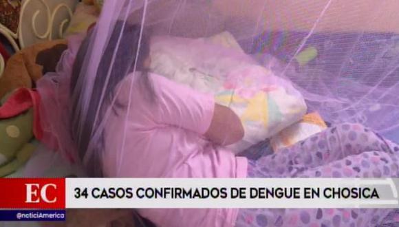 Detectan 34 casos de dengue en distrito de Lurigancho-Chosica (Captura: América Noticias)