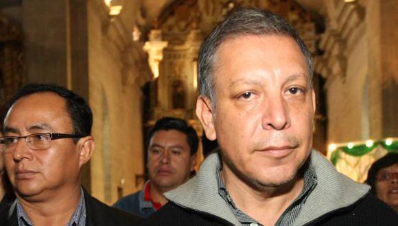 Arana: Gregorio Santos no debería pensar en ir a la reelección