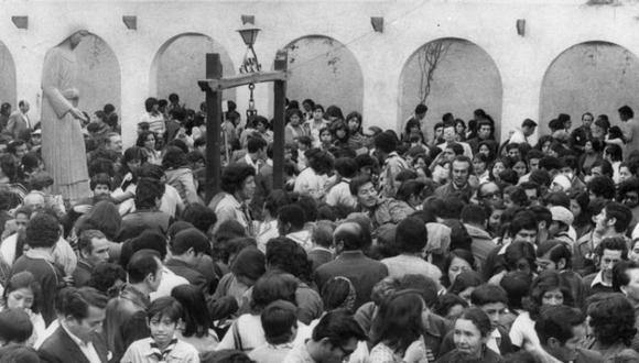 Así era la devoción de los peruanos por Santa Rosa de Lima en la década de 1950   Foto: Archivo Histórico El Comercio
