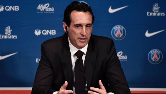 """Unai Emery dejó el banquillo del PSG luego de consagrarse campeón de la Ligue 1 de Francia. El entrenador español. """"Voy a continuar mi camino"""", dijo. (Foto: AP)"""