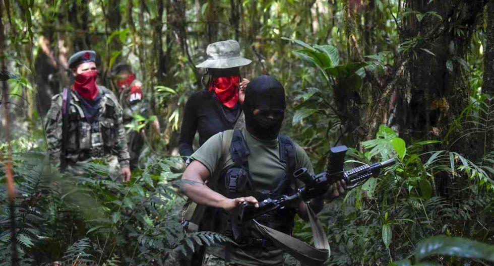 """""""Son letales"""", reconocen los guerrilleros sobre la incursión de militares. (Foto: AFP)"""