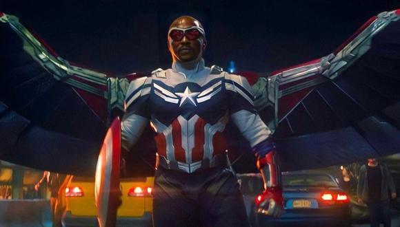 """Disney+ estrenó póster de Sam Wilson reafirmando que es el """"Capitán América"""". (Foto: Marvel Studios)"""