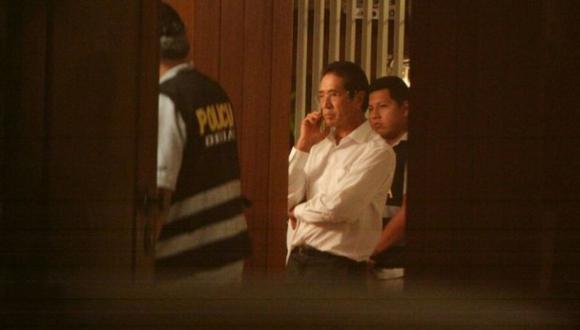 En marzo pasado, se allanó la propiedad de Jaime Yoshiyama en el marco de las declaraciones dadas por Jorge Barata. (Alessandro Currarino / El Comercio)