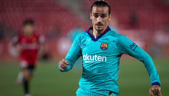 Diego Godín intercedió para que la situación de Antoine Griezmann mejore en el Barcelona, aseguró programa español. (Foto: AFP)