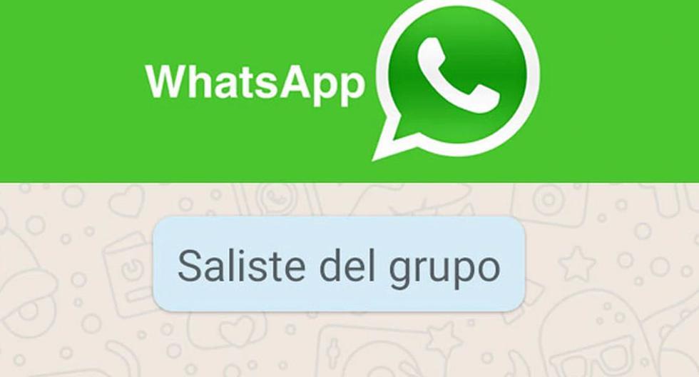 FOTO 1 DE 3 | ¿Quieres salir de un grupo de WhatsApp y que nadie se estere que lo hiciste? Usa este truco. | Foto: WhatsApp (Desliza a la izquierda para ver más fotos)
