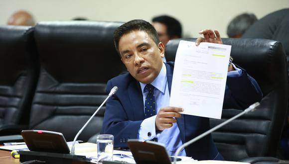 Pleno del Congreso aprobó una suspensión de 120 días contra Roberto Vieira, antes de la disolución del Parlamento, tras un informe de la Comisión de Ética. (Foto: Congreso)
