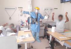 Hospital Regional de Ica implementa terapias con música en vivo para pacientes con COVID-19