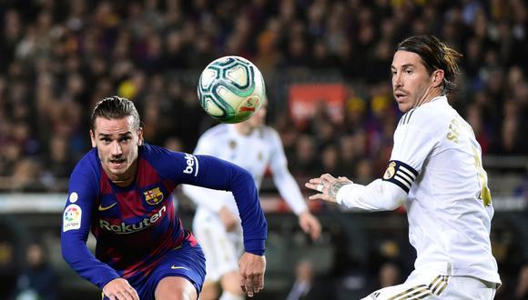 Barcelona y Real Madrid medirán fuerzas por LaLiga Santander. Conoce los horarios y canales de todos los partidos de hoy, domingo 1 de marzo. (AFP)