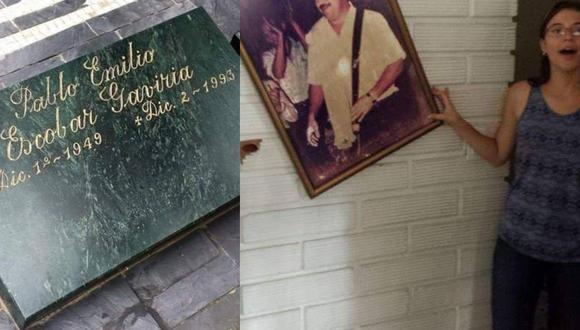 El conocido narcotour inicia en el cementerio Jardines Montesacro, donde se encuentra la lápida de Pablo Escobar. (Foto: Archivo personal)