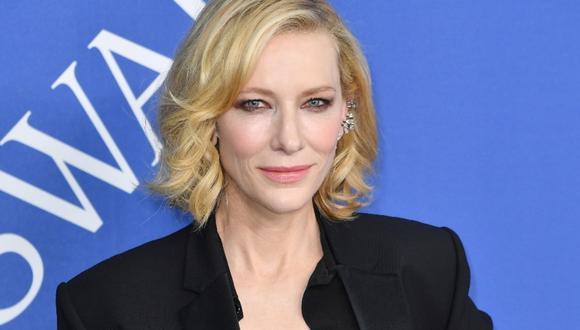 Cate Blanchett prepara películas con dos de los cineastas más admirados del Hollywood contemporáneo. (Foto: AFP)
