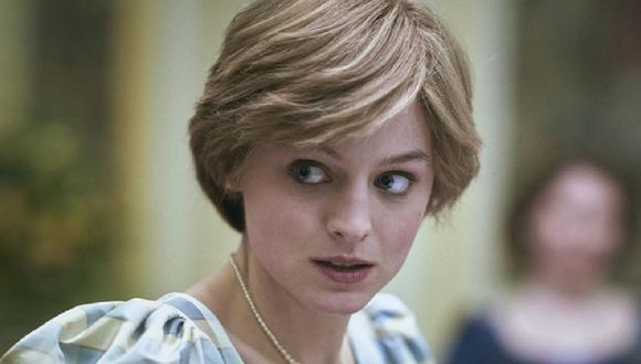 """Emma Corrin fue la encargada de interpretar a Lady Diana en la cuarta temporada de """"The Crown"""" (Foto: Netflix)"""
