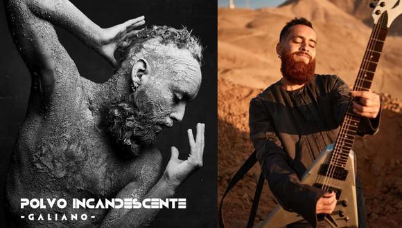 """Carlos Galiano presenta el tema y el videoclip de """"Polvo incandescente"""", primer tema de su disco debut como solista. (Foto: Giuseppe Falla)"""