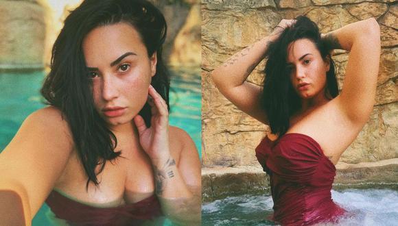 Demi Lovato sorprende con nuevas fotografías en traje de baño sin photoshop. (Foto: Instagram)